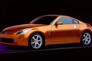 car vehicle nissan 350z nissan orange cars