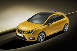 car yellow cars seat ibiza concept cars