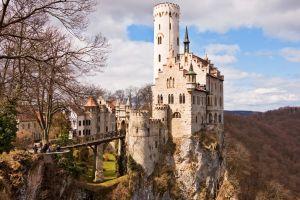 castle landscape building