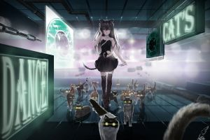 cats anime girls anime original characters emoticons