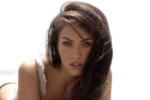 celebrity brunette megan fox transformers model women movies megan fox