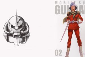 char aznable mobile suit gundam mobile suit gundam
