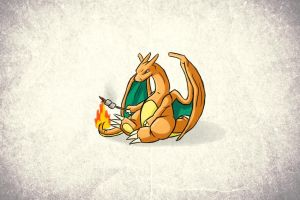 charizard marshmallows wings white background