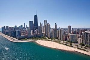 chicago cityscape city