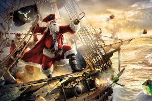 christmas boat noel  santa claus santa