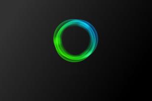 circle minimalism digital art