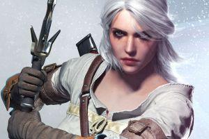 ciri video games the witcher the witcher 3: wild hunt cirilla fiona elen riannon fantasy girl