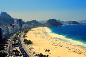 city brazil building rio de janeiro cityscape beach copacabana