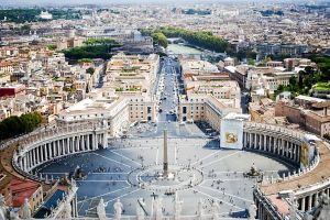 cityscape rome architecture vatican city building