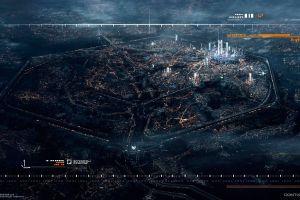 cityscape video games adrift futuristic city aerial view remember me city map futuristic digital art