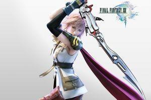 claire farron final fantasy xiii video games sword