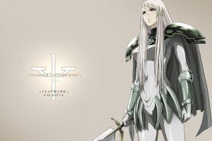 claymore (anime) anime sword anime girls