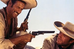 clint eastwood eli wallach the good, the bad and the ugly