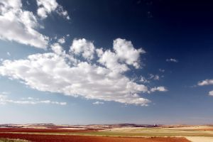clouds sky landscape