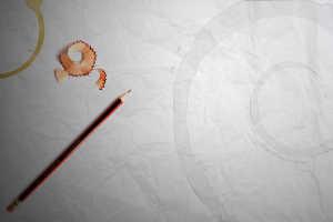 coffee linux pencils debian drawing paper