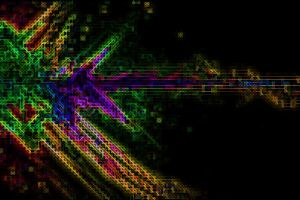 colorful abstract digital art