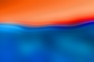 colorful minimalism waveforms blue shapes orange