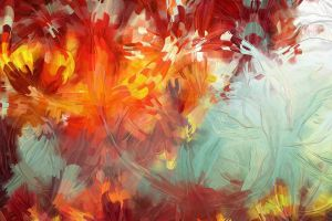 colorful painting abstract artwork