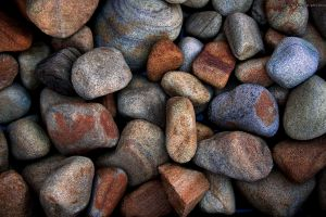 colorful stones nature macro