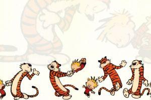 comics bill watterson calvin and hobbes tiger