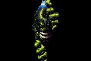 comics black background green black hulk