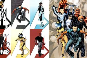 comics collage comic art the avengers
