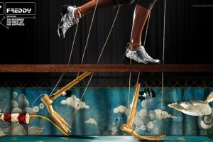 commercial artwork shoes