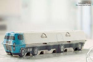 commercial volkswagen artwork vehicle