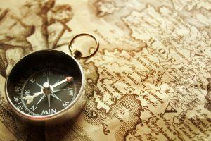 compass arrow map