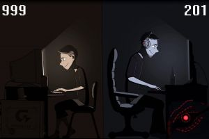 computer gamers nostalgia pc gaming gigabyte video games digital art artwork