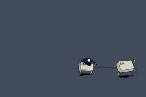 computer humor minimalism