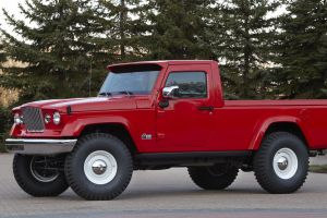 concept cars jeep j-12 red cars