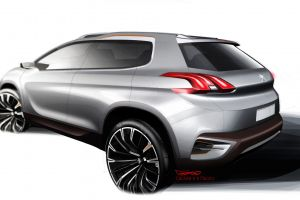concept cars peugeot urban crossover car