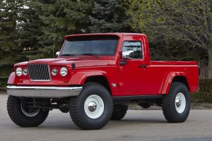 concept cars red cars jeep j-12