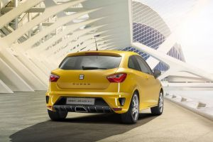 concept cars yellow cars car seat ibiza