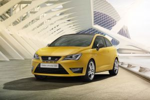concept cars yellow cars seat ibiza car