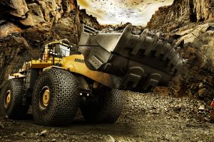 construction vehicles digital art men work vehicle
