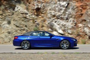 convertible blue cars bmw m6