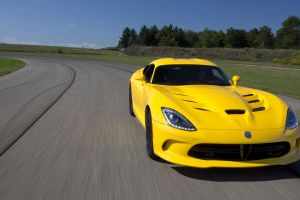 coupe car sports car yellow cars dodge viper