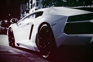 coupe car white cars sports car lamborghini