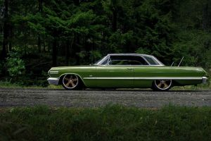 coupe green cars car vintage car