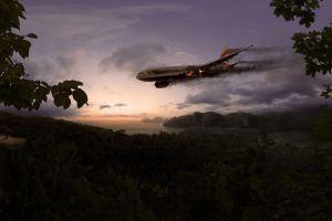 crash aircraft passenger aircraft