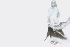 crossbreed priscilla minimalism fantasy girl dark souls fantasy art video games