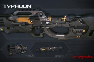crysis crysis 3 weapon video games