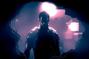 cyborg adam jensen deus ex: human revolution deus ex video games