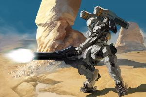 cyborg concept art science fiction fantasy art artwork robot