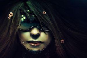 cyborg women digital art fantasy art artwork concept art