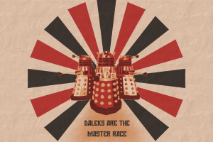 daleks science fiction doctor who