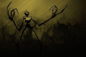 dark creepy artwork