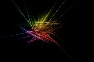dark digital art lines abstract simple background shapes colorful simple minimalism